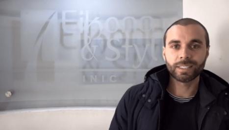 Por qué el actor Eduardo Amer eligió a Eikona para su microinjerto de cabello