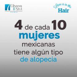 alopecia en mujeres mexicanas